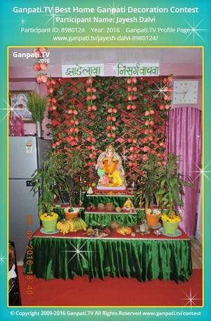 Jayesh Dalvi Home Ganpati Picture