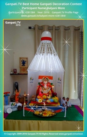 Kalyani More Home Ganpati Picture