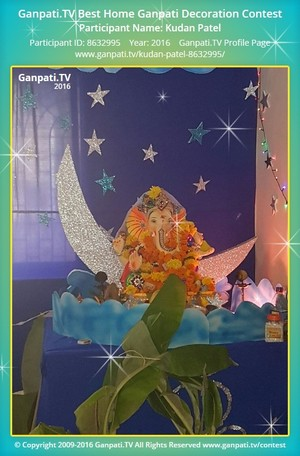 Kudan Patel Ganpati Decoration