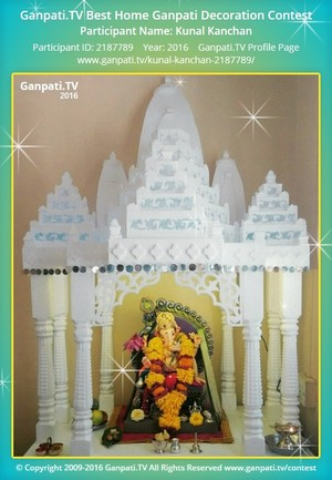 Kunal Kanchan Ganpati Decoration