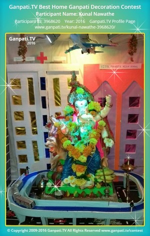 Kunal Nawathe Ganpati Decoration