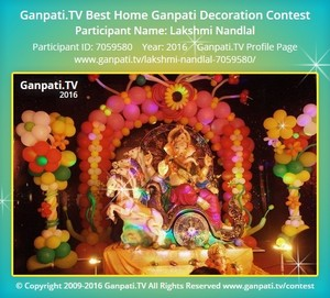 Lakshmi Nandlal Ganpati Decoration