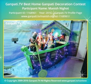 Manish Nighot Ganpati Decoration