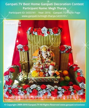 Megh Tharya Ganpati Decoration