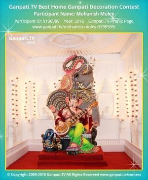 Mohanish Muley Ganpati Decoration