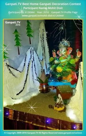 Mohit Dixit Ganpati Decoration