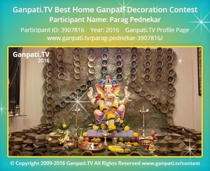 Parag Pednekar Ganpati Decoration