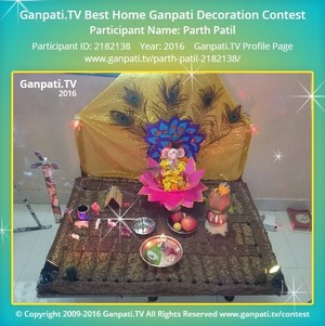 Parth Patil Ganpati Decoration