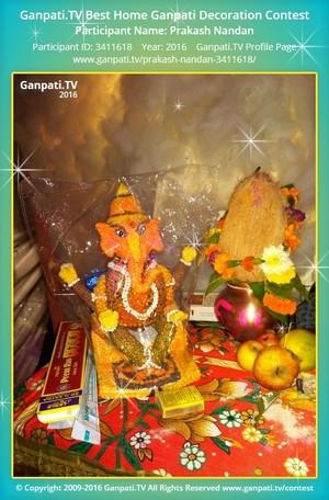Prakash Nandan Ganpati Decoration