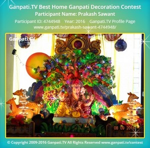 Prakash Sawant Ganpati Decoration