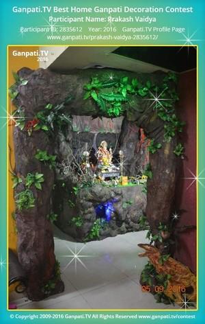Prakash Vaidya Ganpati Decoration