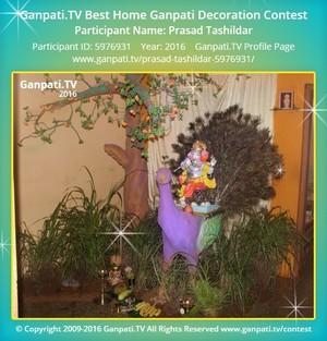 Prasad Tashildar Ganpati Decoration