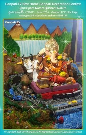 Prashant Nahire Ganpati Decoration