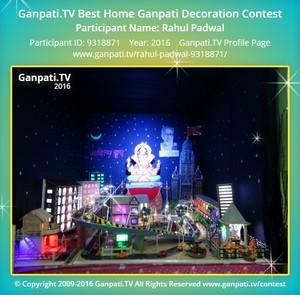 Rahul Padwal Ganpati Decoration