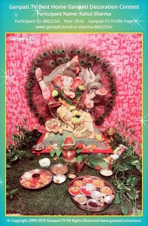 Rahul Sharma Ganpati Decoration