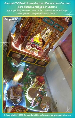 Rajesh Sharma Ganpati Decoration
