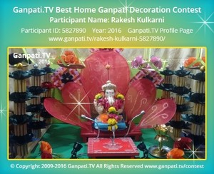 Rakesh Kulkarni Ganpati Decoration