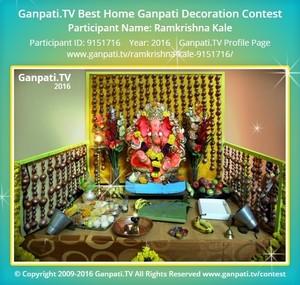 Ramkrishna Kale Ganpati Decoration