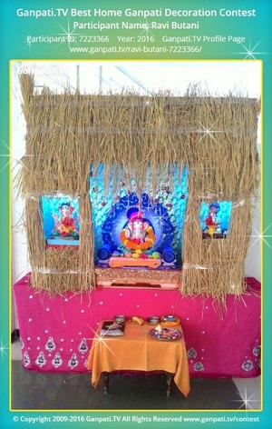 Ravi Butani Ganpati Decoration
