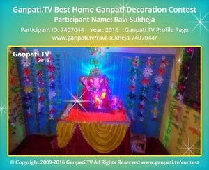 Ravi Sukheja Ganpati Decoration