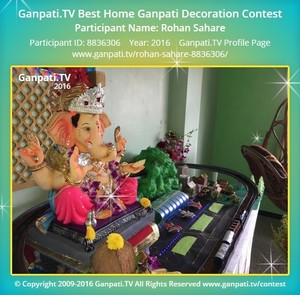 Rohan Sahare Ganpati Decoration