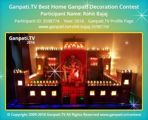 Rohit Bajaj Ganpati Decoration