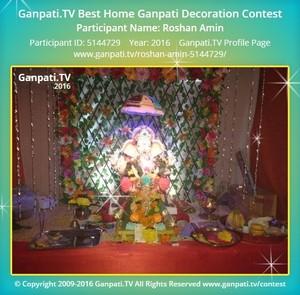 Roshan Amin Ganpati Decoration