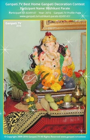Rushikant Parate Ganpati Decoration