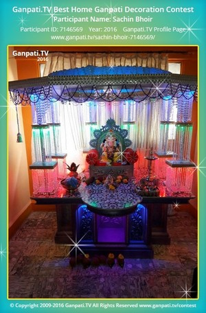 Sachin Bhoir Ganpati Decoration