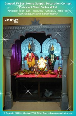 Sachin Mokal Ganpati Decoration
