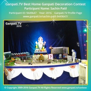 Sachin Patil Ganpati Decoration
