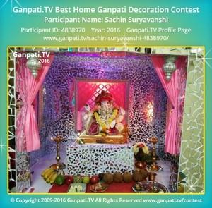 Sachin Suryavanshi Ganpati Decoration