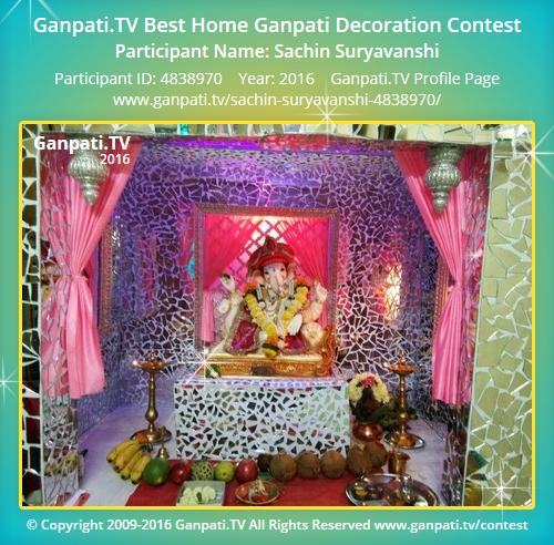 Sachin Suryavanshi Ganpati Tv