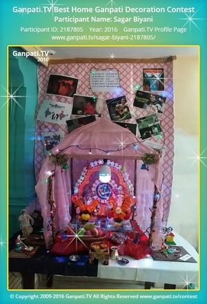 Sagar Biyani Ganpati Decoration