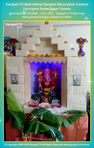 Sagar Chawda Ganpati Decoration