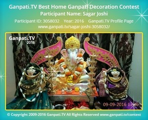 Sagar Joshi Ganpati Decoration