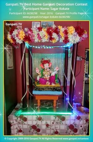 Sagar Kokate Ganpati Decoration