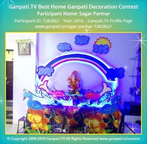 Sagar Parmar Ganpati Decoration