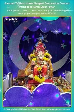 Sagar Pawar Ganpati Decoration
