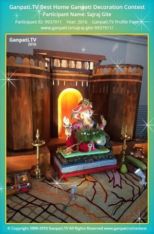 Sajraj Gite Ganpati Decoration
