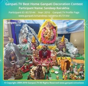 Sandeep Rairakhia Ganpati Decoration