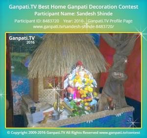 Sandesh Shinde Ganpati Decoration