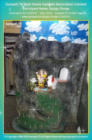Sanjay Chorge Ganpati Decoration