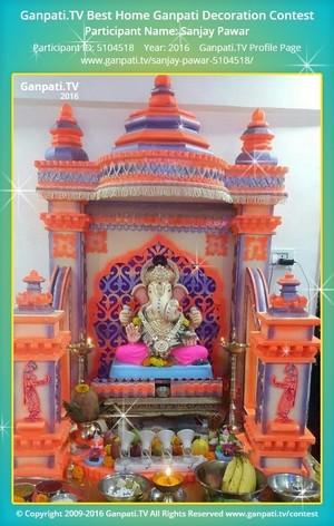 Sanjay Pawar Ganpati Decoration