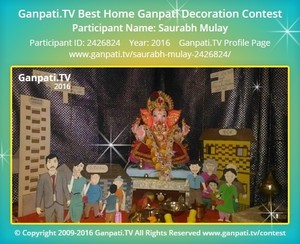 Saurabh Mulay Ganpati Decoration