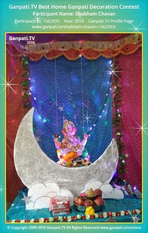 Shubham Chavan Ganpati Decoration