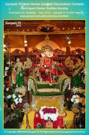 Suddoo Kensley Ganpati Decoration
