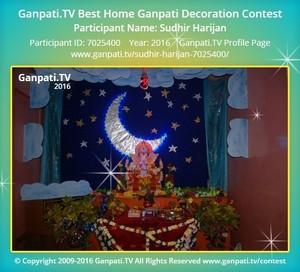 Sudhir Harijan Home Ganpati Picture