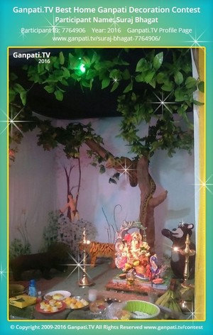 Suraj Bhagat Ganpati Decoration