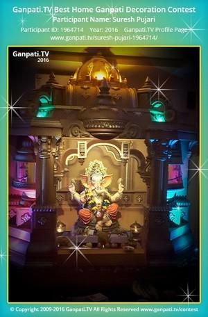 Suresh Pujari Ganpati Decoration